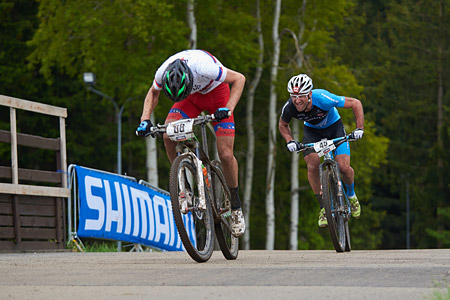 Karl Markt at UCI World Cup XCO 1 Nove Mesto na Morave (2015)