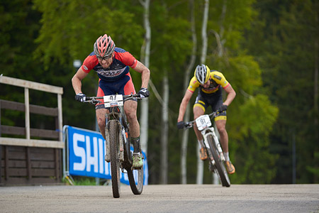 Martin Gujan at UCI World Cup XCO 1 Nove Mesto na Morave (2015)