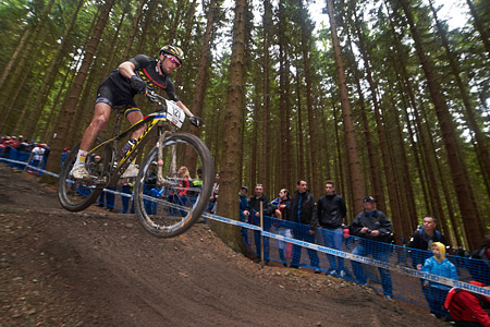 Marvin Gruget at UCI World Cup XCO 1 Nove Mesto na Morave (2015)