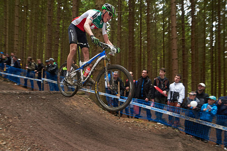 Michael Stünzi at UCI World Cup XCO 1 Nove Mesto na Morave (2015)
