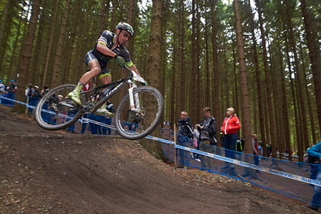 Miguel Martinez at UCI World Cup XCO 1 Nove Mesto na Morave (2015)