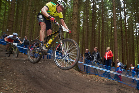 Simon Gegenheimer at UCI World Cup XCO 1 Nove Mesto na Morave (2015)