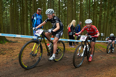 Ekaterina Anoshina at UCI World Cup XCO 1 Nove Mesto na Morave (2015)