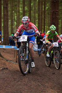 Anne Terpstra at UCI World Cup XCO 1 Nove Mesto na Morave (2015)