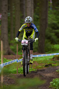 Esther Süss at UCI World Cup XCO 1 Nove Mesto na Morave (2015)