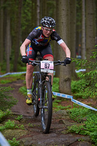 Helle Haugaard Jessen at UCI World Cup XCO 1 Nove Mesto na Morave (2015)