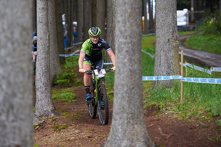 Hielke Elferink at UCI World Cup XCO 1 Nove Mesto na Morave (2015)