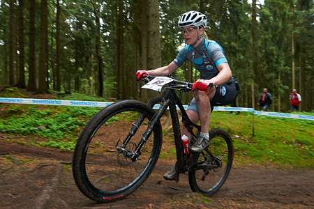 Lisette Rosenbech at UCI World Cup XCO 1 Nove Mesto na Morave (2015)