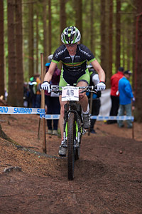 Nina Wrobel at UCI World Cup XCO 1 Nove Mesto na Morave (2015)